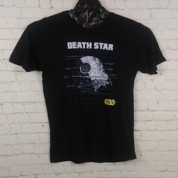 "Star Wars Men ""Death Star"" Crewneck T-shirt Size L"